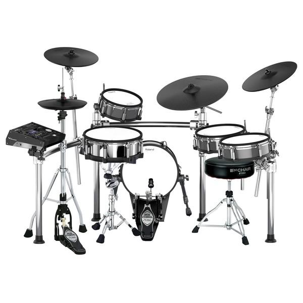 Roland TD-50KV Iron Cobra V-Drums Bundle