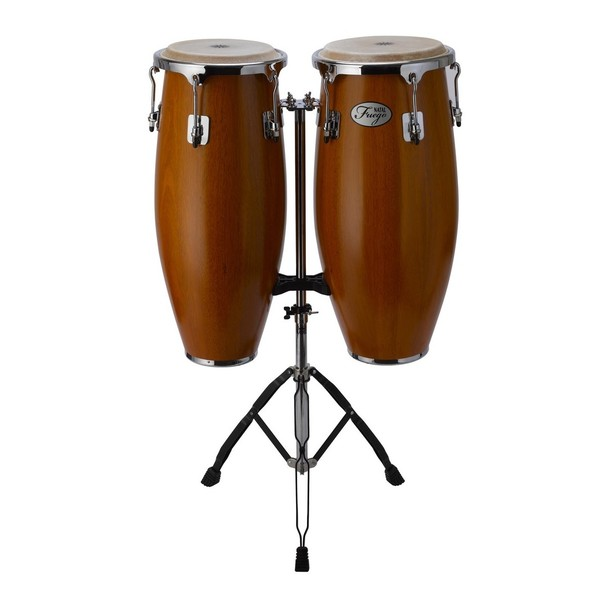 Natal Natural Wood Congas 10'' & 11'' Matte Honey