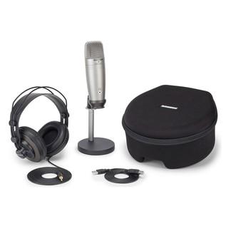 Samson CO1U USB Recording and Podcasting Pack - Main