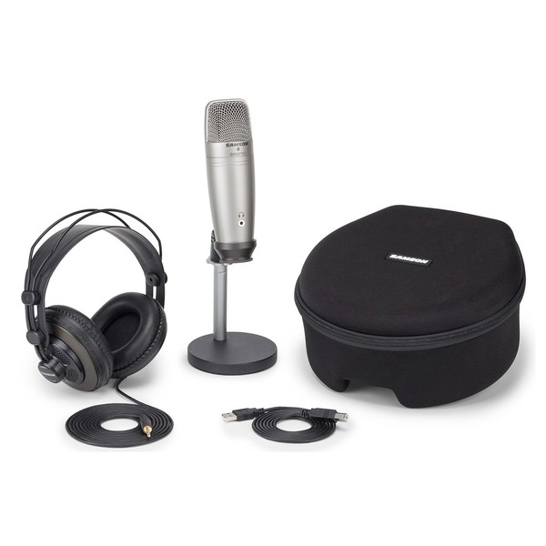 Samson CO1U USB Recording and Podcasting Pack - Main