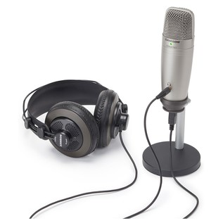 Samson USB Recording and Podcasting Pack - Mic & Rear