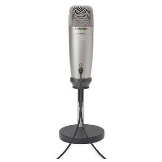 Samson C01U Podcasting Pack - Mic Rear