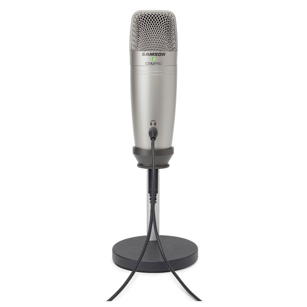 Samson C01U Podcasting Pack - Mic Rear