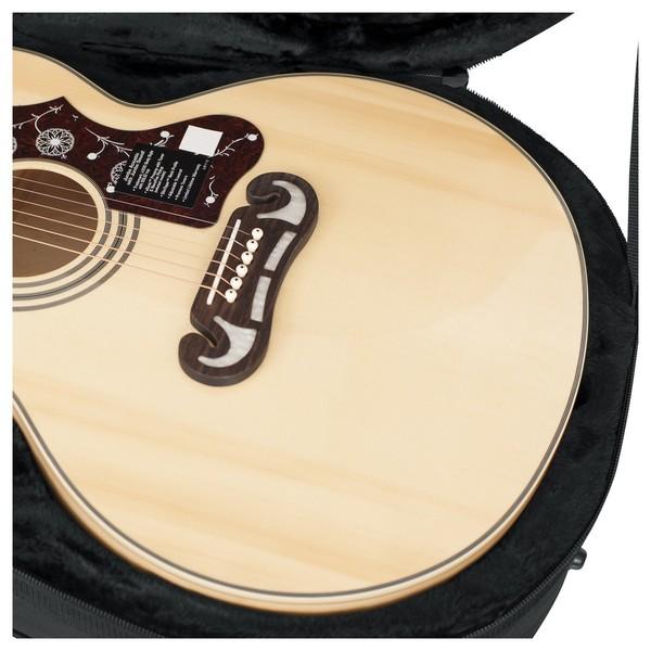 Gator GL-JUMBO Rigid EPS Jumbo Acoustic Guitar Case, Close-Up
