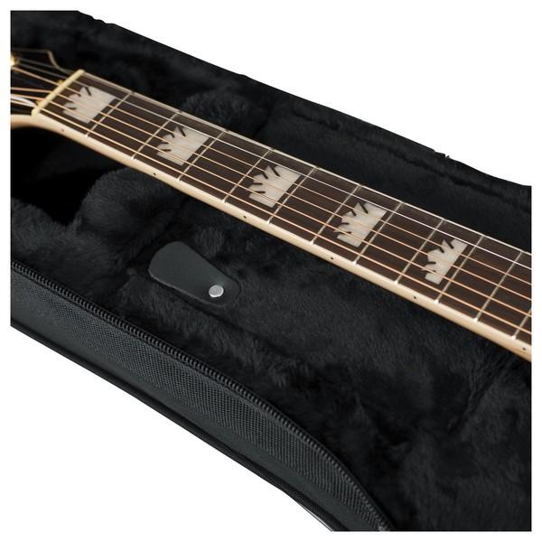 Gator GL-JUMBO Rigid EPS Jumbo Acoustic Guitar Case, Neck Support
