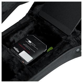 Gator GL-DREAD-12 Rigid EPS Dreadnought Acoustic Guitar Case, Storage Compartment