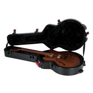 Gator GTSA-GTR335 ATA Moulded Case For Semi-Hollow Electric Guitars 9