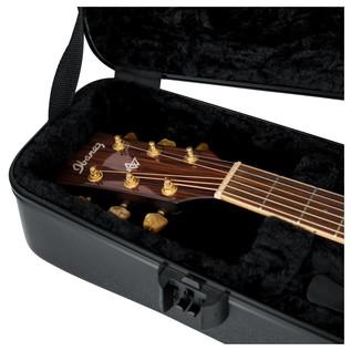 Gator GTSA-GTRDREAD ATA Moulded Case For Dreadnought Acoustic Guitars 9