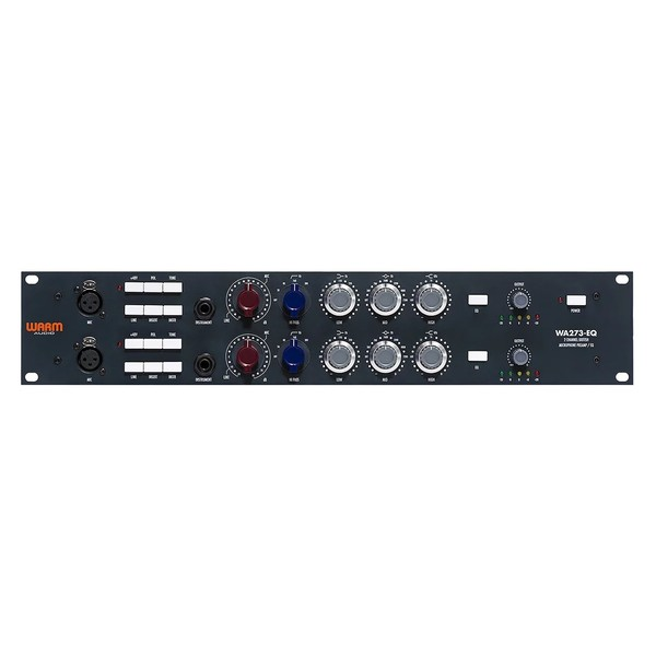 Warm Audio WA273-EQ 2-Channel Microphone Preamp with EQ - Front