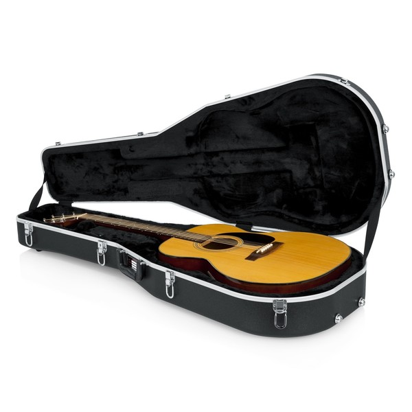 Gator GC-DREAD Deluxe Moulded Case For Dreadnought Acoustic Guitars 9
