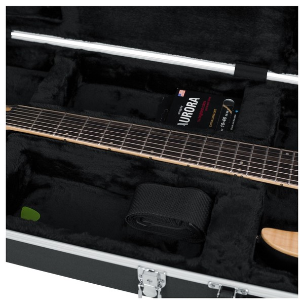 Gator GC-ELEC-XL Deluxe Moulded Case For Electric Guitars, Extra-Long 8