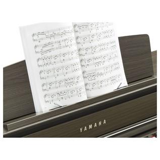 Yamaha CLP 645 Digital Piano, Dark Walnut