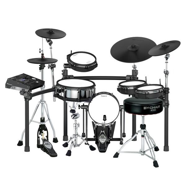 Roland TD-50K Iron Cobra V-Drums Bundle