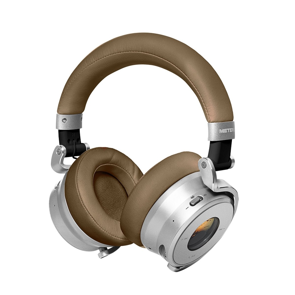 meter ov 1 b bluetooth over ear headphones tan at gear4music. Black Bedroom Furniture Sets. Home Design Ideas