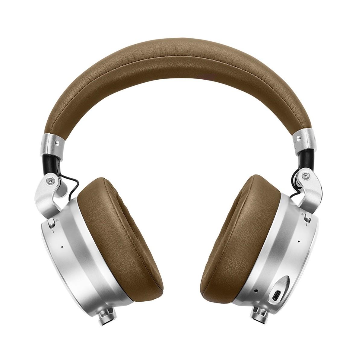 8b675d57cc4 ... Meter OV-1-B Bluetooth Over Ear Headphones, Tan - Front ...