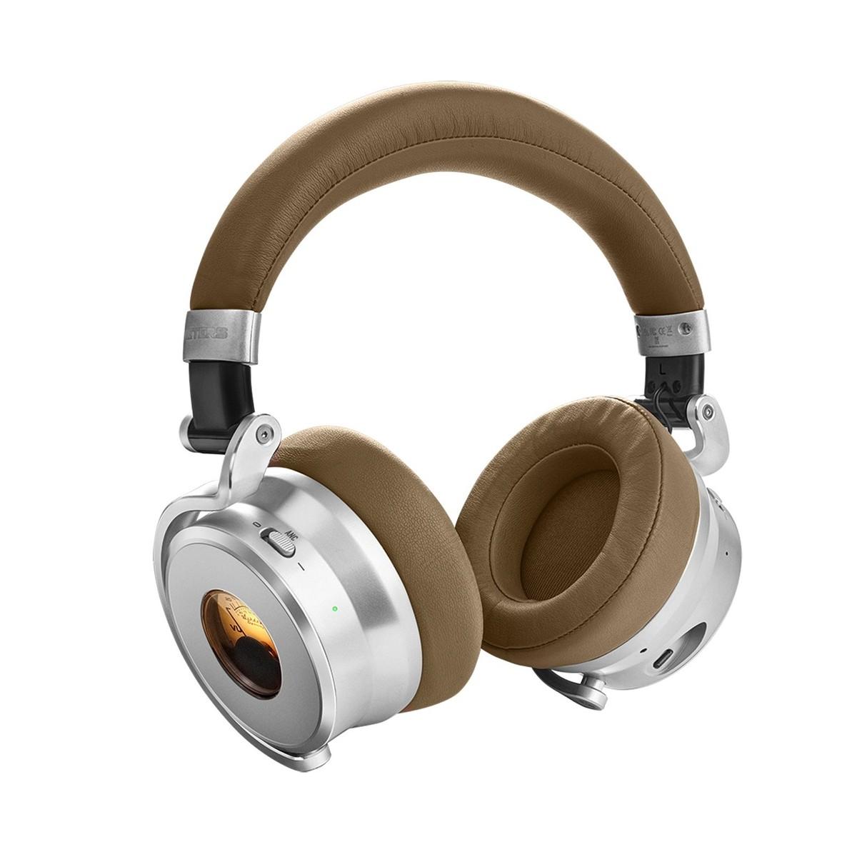 f8b616b3f42 ... Meter OV-1-B Bluetooth Over Ear Headphones, Tan - Angle ...