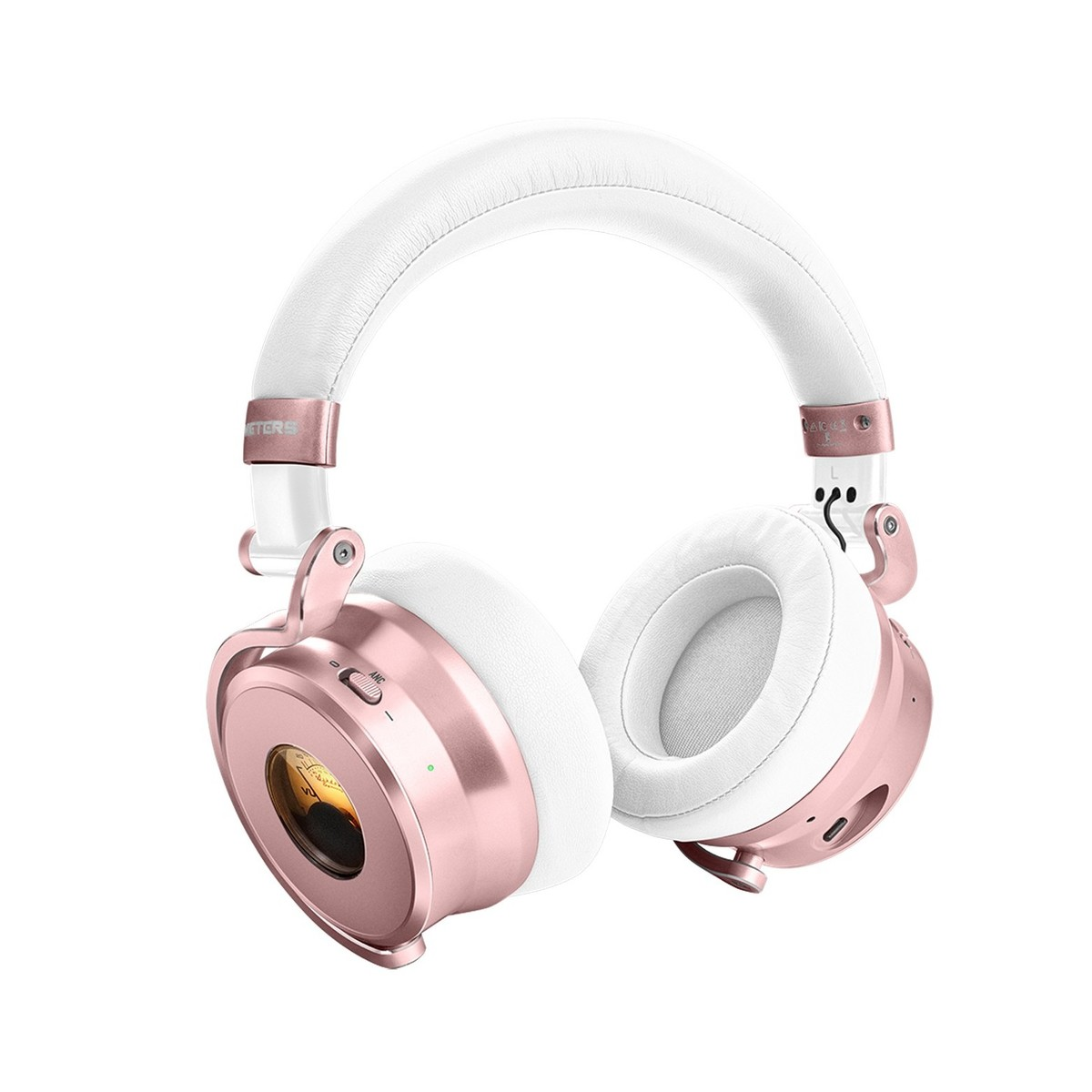 meter ov 1 b bluetooth over ear headphones rose gold. Black Bedroom Furniture Sets. Home Design Ideas