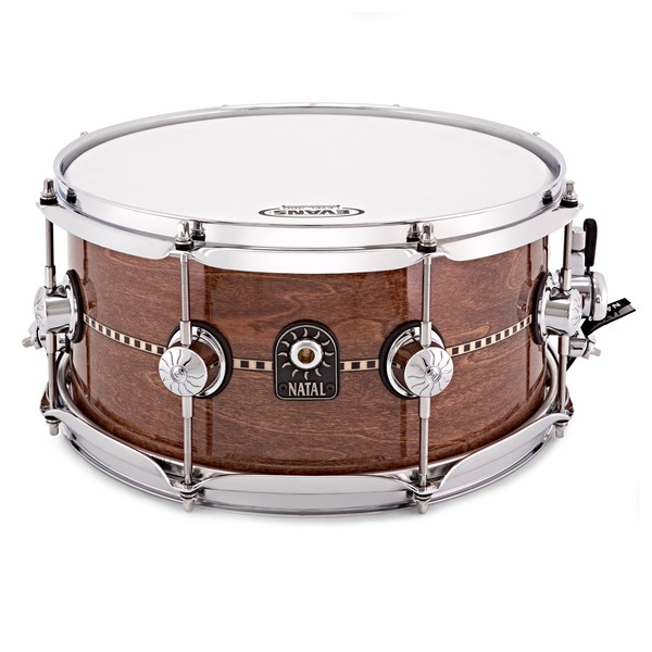 Natal Cafe Racer 13'' x 6.5'' Inlay Snare, Gloss