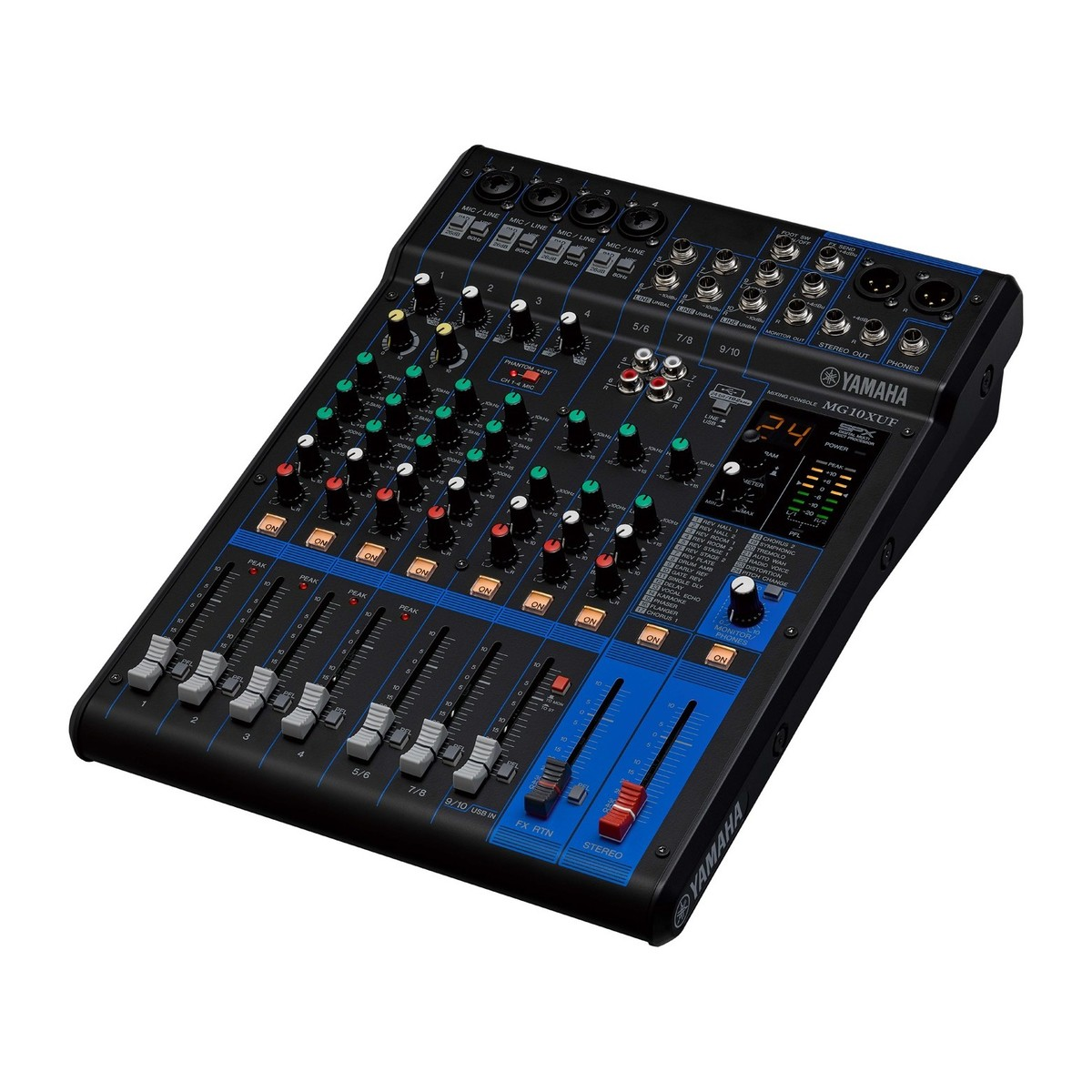 Yamaha mg10xuf table de mixage usb analogique gear4music - Table de mixage yamaha usb ...