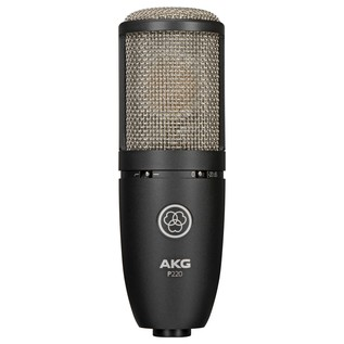 AKG P220 Large Diaphragm Condenser Microphone - Front