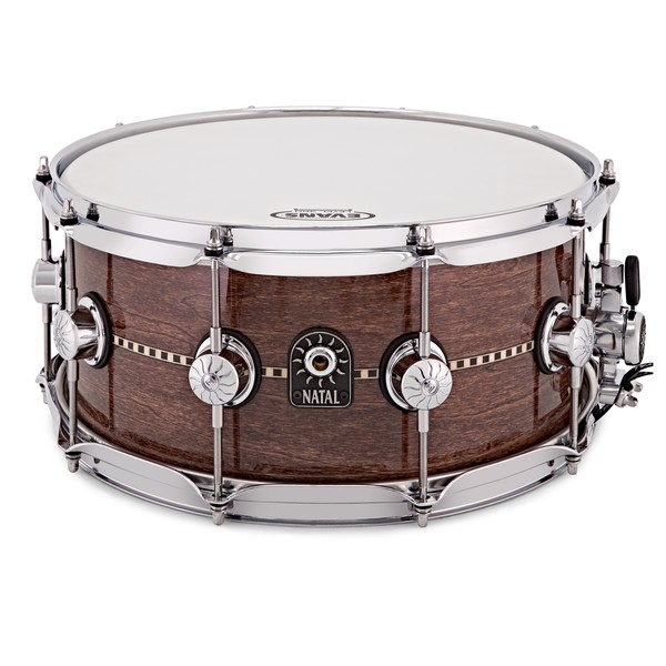 Natal Cafe Racer 14'' x 6.5'' Inlay Snare, Gloss