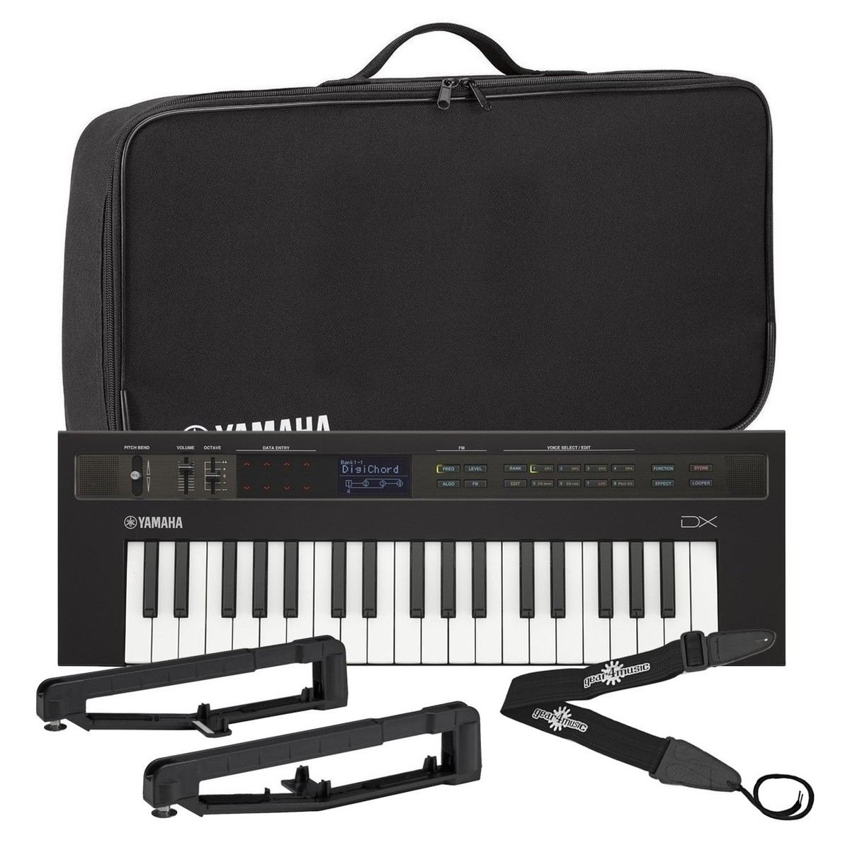 yamaha reface dx synthesizer with yamaha bag strap kit. Black Bedroom Furniture Sets. Home Design Ideas
