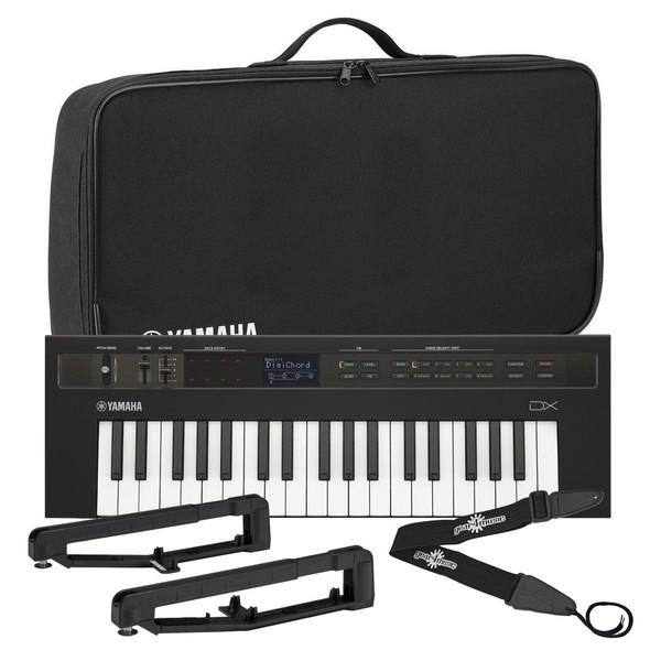 Yamaha reface DX Synthesizer With Yamaha Bag & Strap Kit - Bundle