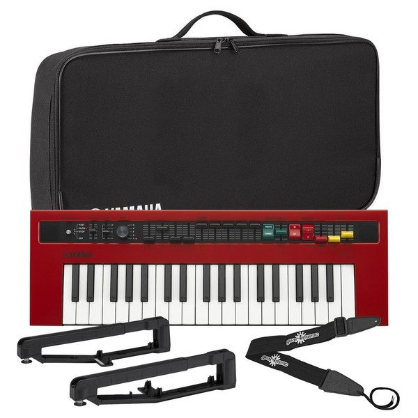 Yamaha reface YC Combo Organ With Yamaha Bag & Strap Kit - Bundle