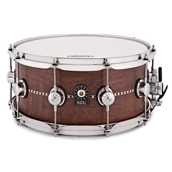 Natal Cafe Racer 14'' x 6.5'' Inlay Snare, Satin