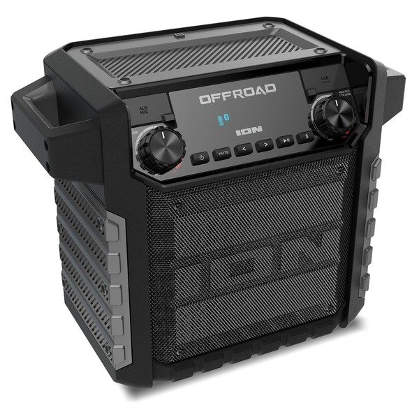 ION Offroad Wireless All-Weather Speaker System - Angled
