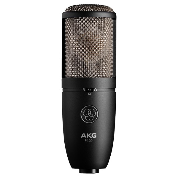AKG Perception P420 Large Diaphragm Mic - Front