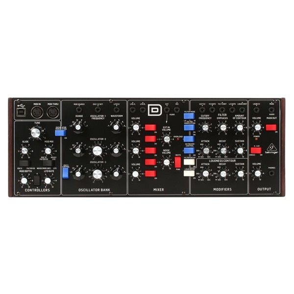 Behringer D Analog Synthesizer Module - Main