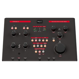 SPL Crimson 3, Black - Top