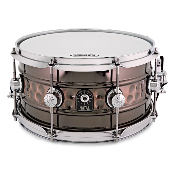 Natal Cafe Racer 13'' x 7'' Steel Beaded Hand Hammered Snare