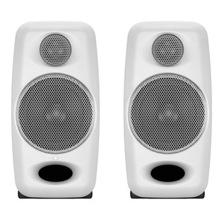 IK Multimedia iLoud Micro Monitor Studio Referencing System, White - Front