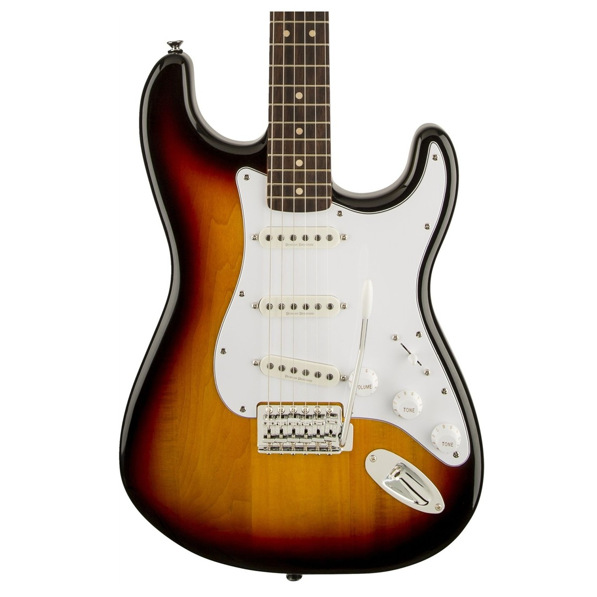 squier vintage modified stratocaster 3 tone sunburst at gear4music. Black Bedroom Furniture Sets. Home Design Ideas