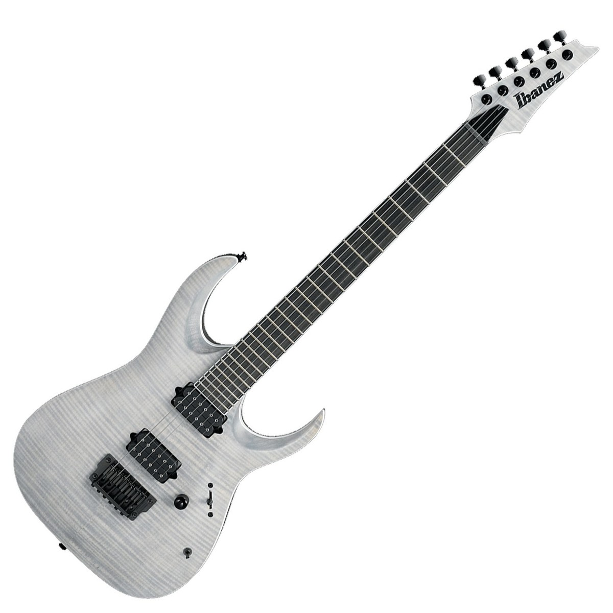 Ibanez Rgaix6fm Iron Label White Frost Flat At Gear4music
