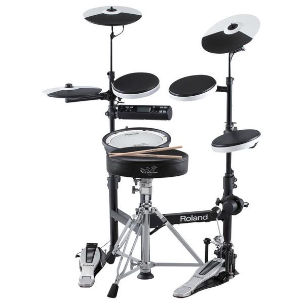 roland td 4kp v drums mesh snare bundle at gear4music. Black Bedroom Furniture Sets. Home Design Ideas