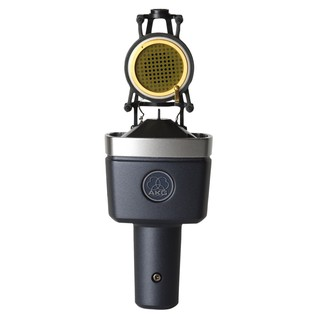 AKG C214 Large Diaphragm Microphone - Capsule Open