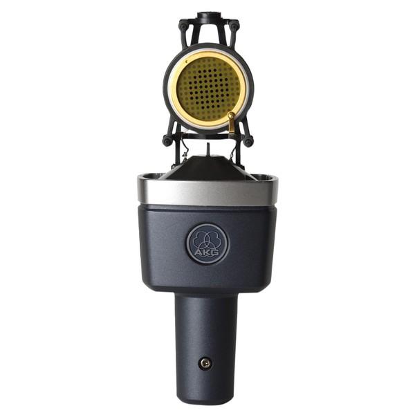 AKG C214 Large Diaphragm Microphone - Capsule Open