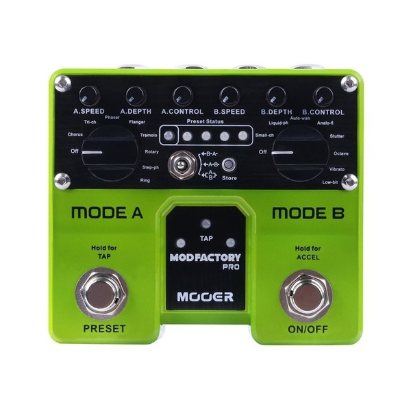 Mooer Mod Factory Pro Twin Modulation Pedal