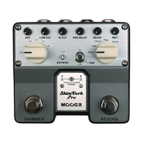 Mooer Shim Verb Pro Twin Digital Delay Pedal