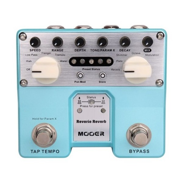 Mooer Reverie Pro Twin Reverb Pedal