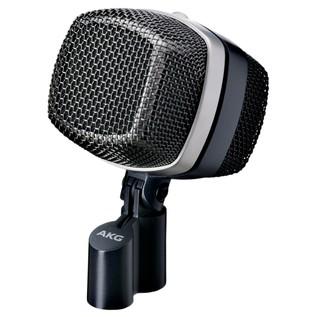 AKG D12 VR Dynamic Kick Drum Microphone - Angled