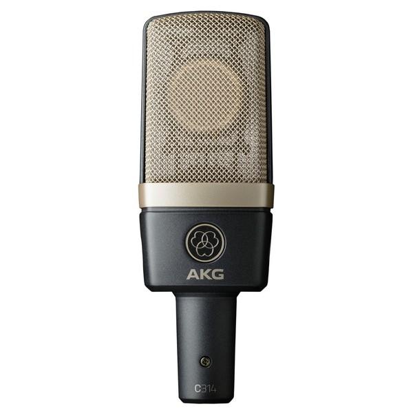 AKG C314 Dual-Diaphragm Condenser Microphone - Front