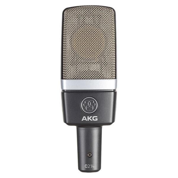 AKG C214 Condenser Microphone - Front