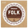 D'Addario EJ32C Folk Nylon Classical Guitar Strings with Ball End