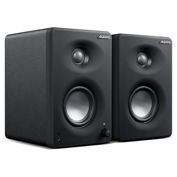 Alesis M1 Active 330 USB Desktop Studio Monitors - Angled