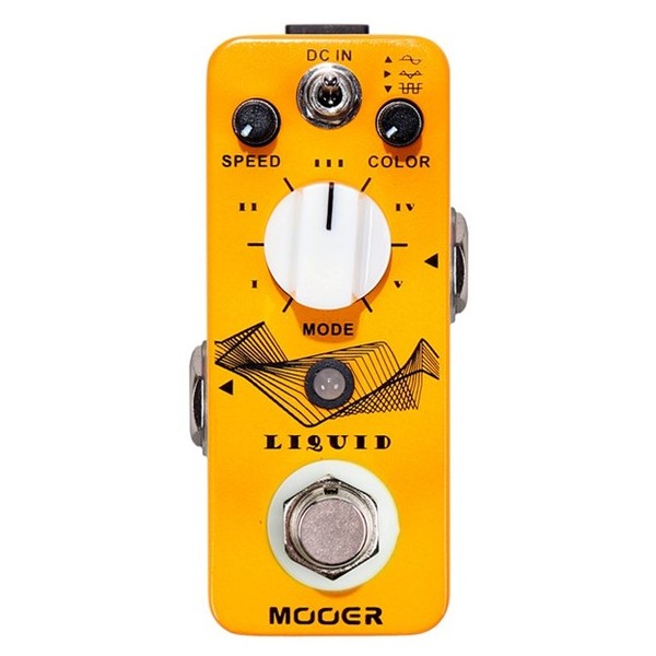 Mooer MPH2 Liquid Digital Phaser Pedal - front