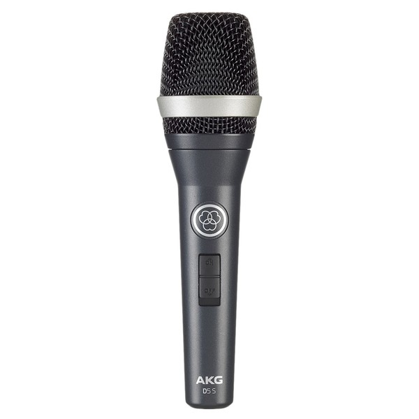 AKG D5 S Dynamic Lead Vocal Mic + Switch - Front